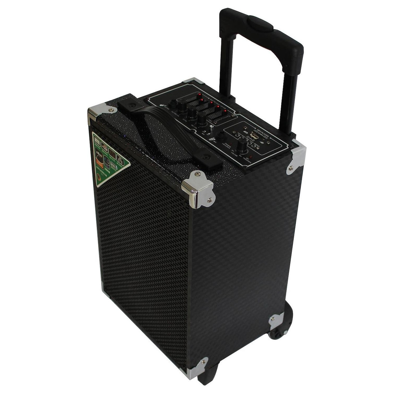 Immagine per Sistema audio multimediale portatile Trolley      Majestic TS74BT con microfono wireless da DIMOStore