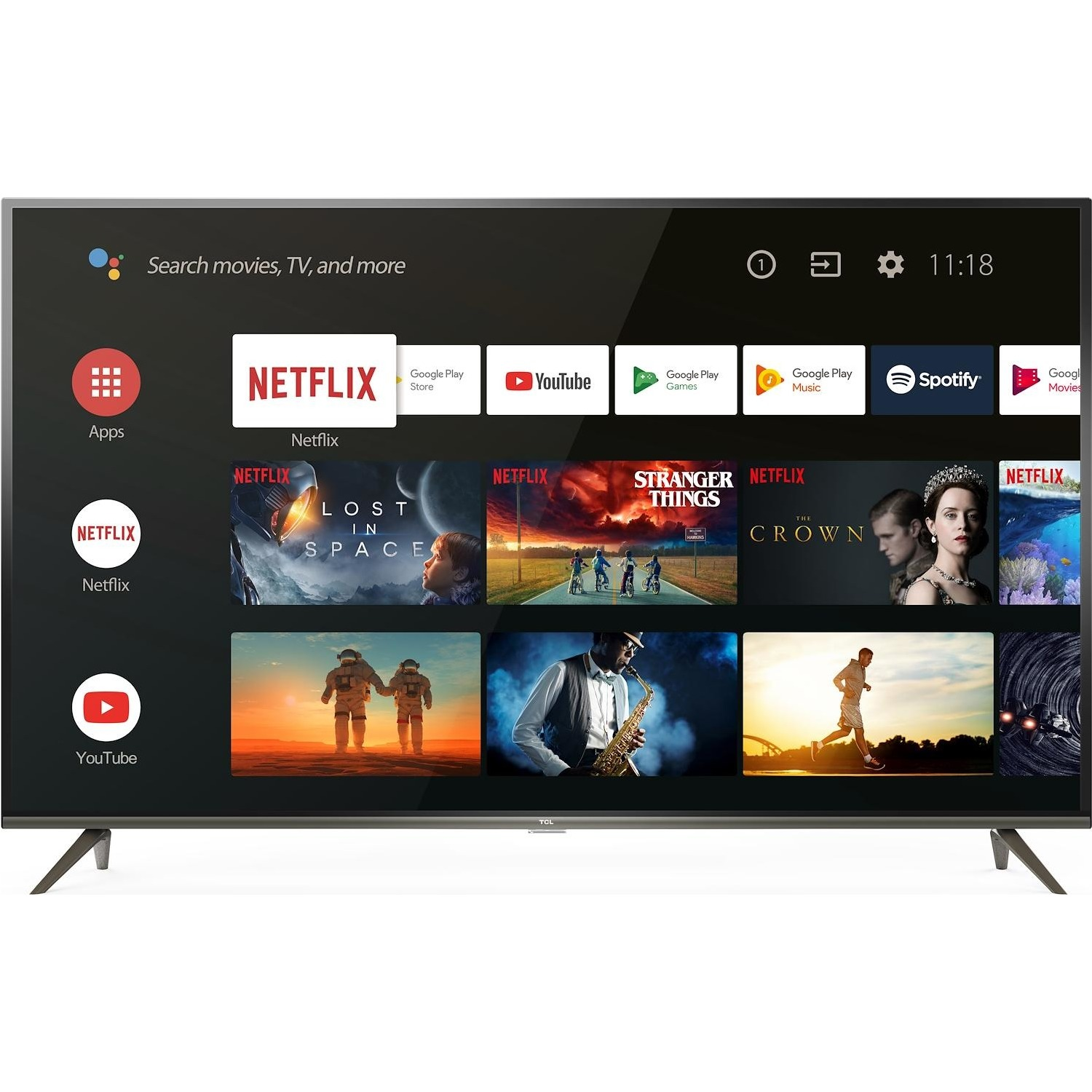 Immagine per TV LED Android 4K UHD TCL 50EP640 da DIMOStore