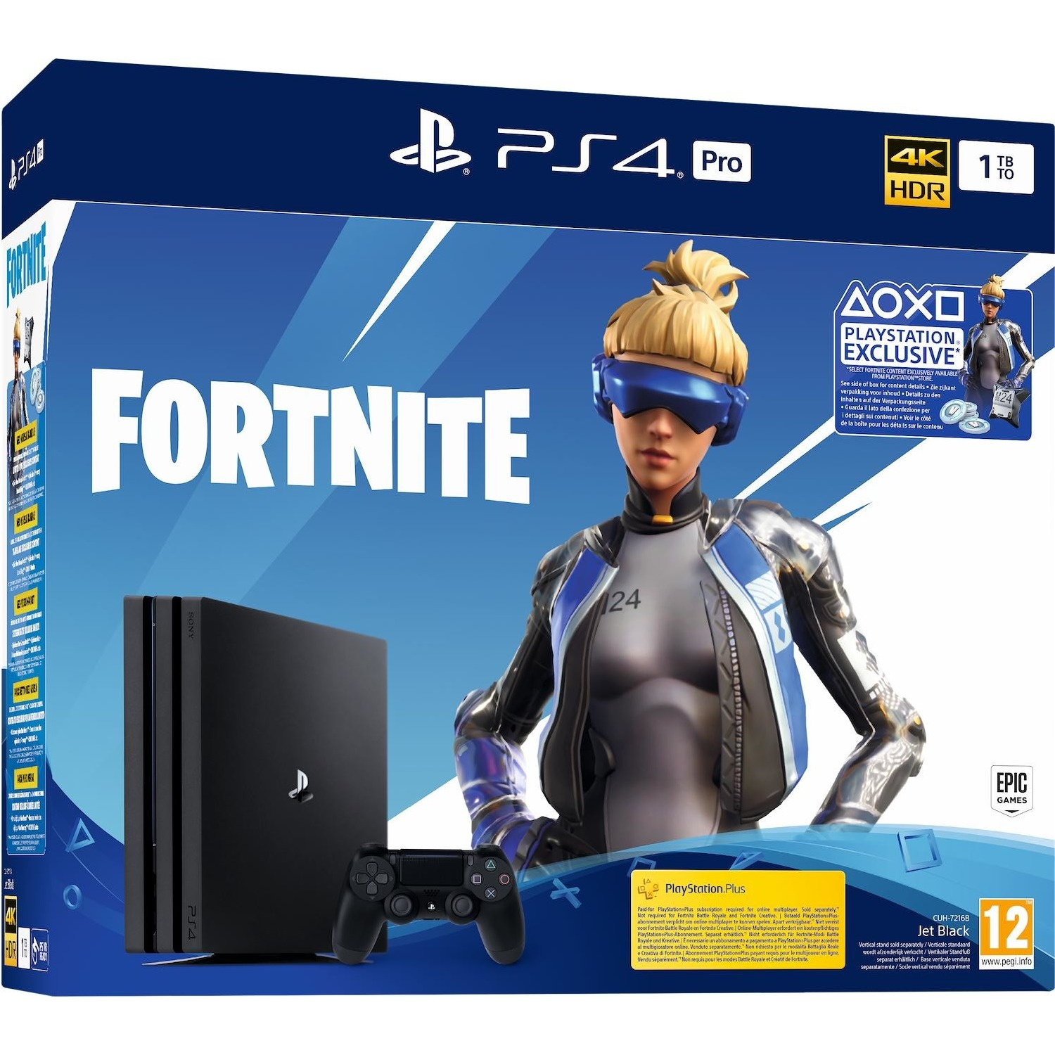 Immagine per Playstation Sony PS4 1TB PRO Gamma + Fortnite Voucher 2019 da DIMOStore