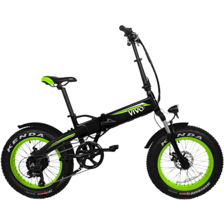E-Bike Vivo VF21 FAT green Bicicletta Elettrica | DIMOStore