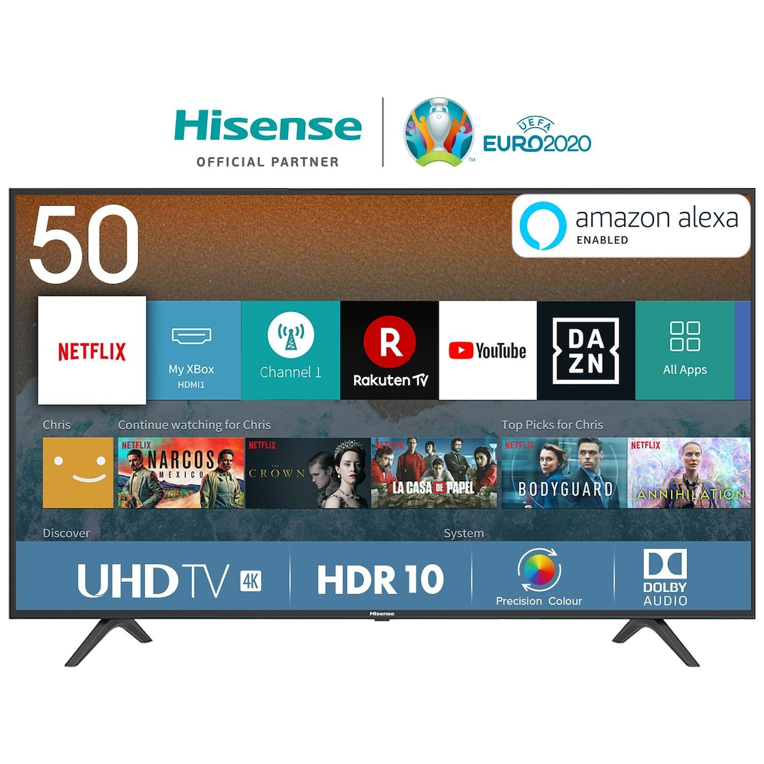 Immagine per TV LED 4K Smart Hisense 50B7120 da DIMOStore