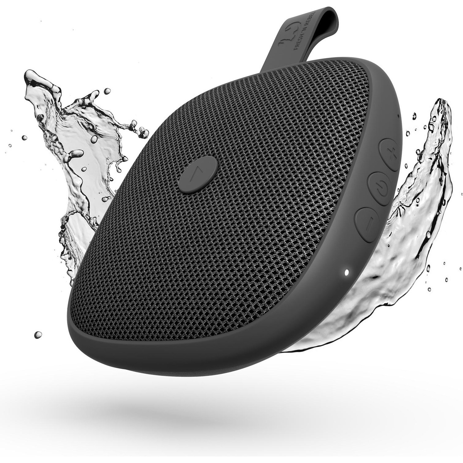 Immagine per Diffusore Fresh 'N Rebel Rockbox Bold XS          Bluetooth waterproof speaker nero antracite da DIMOStore