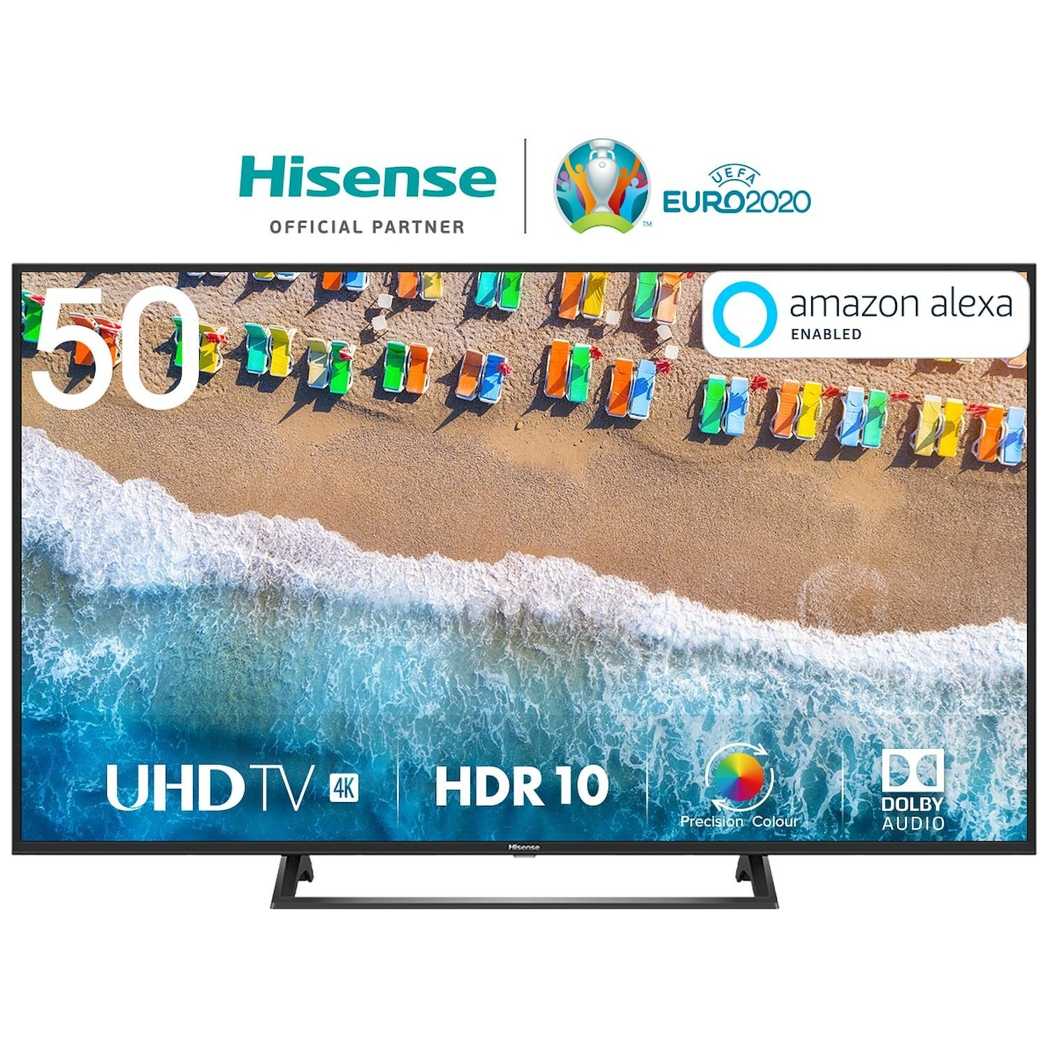 Immagine per TV LED Smart 4K UHD Hisense 50BE7200 da DIMOStore