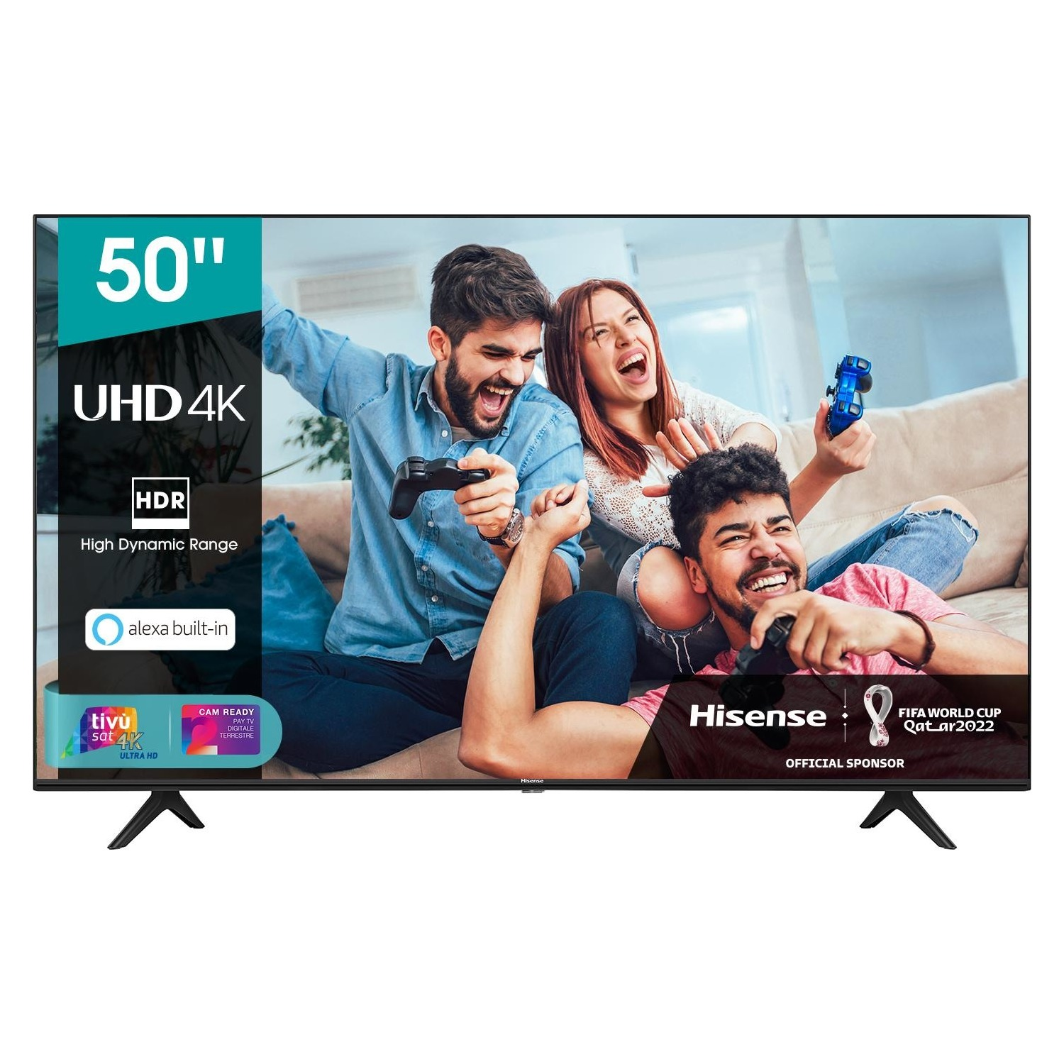 Immagine per TV LED Smart 4K UHD Hisense 50A7120F da DIMOStore
