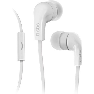 Auricolare SBS filo stereo in-ear Studio MIX 30   white