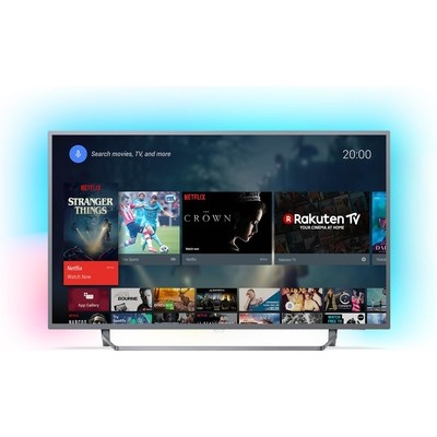 TV LED Android 4K UHD Philips 55PUS7303 Ambilight