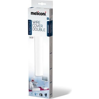 Meliconi Slimstyle COVER DB WHITE 480520