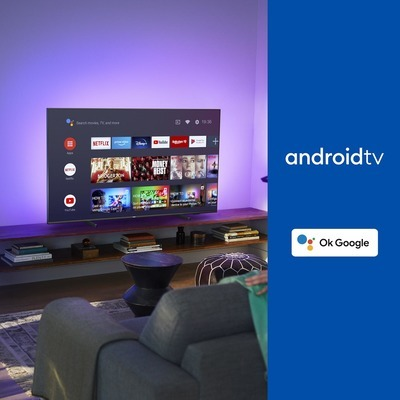 TV LED 4K UHD Android Smart Philips 43PUS7906